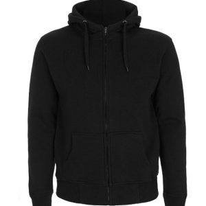 Men's High Neck Zip-Up Hoodie