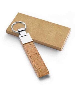 Schlüsselanhänger aus Kork