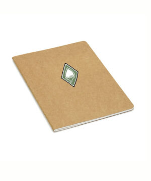 Notizblock aus recycletem Karton
