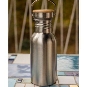DS788 Einwandige Edelstahlflasche mit grosser Öffnung 500ml