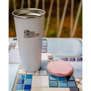 DT500 Kaffeebecher aus Edelstahl mit Deckel