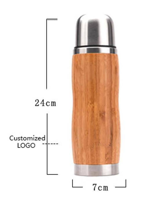 Bambus Thermoskanne