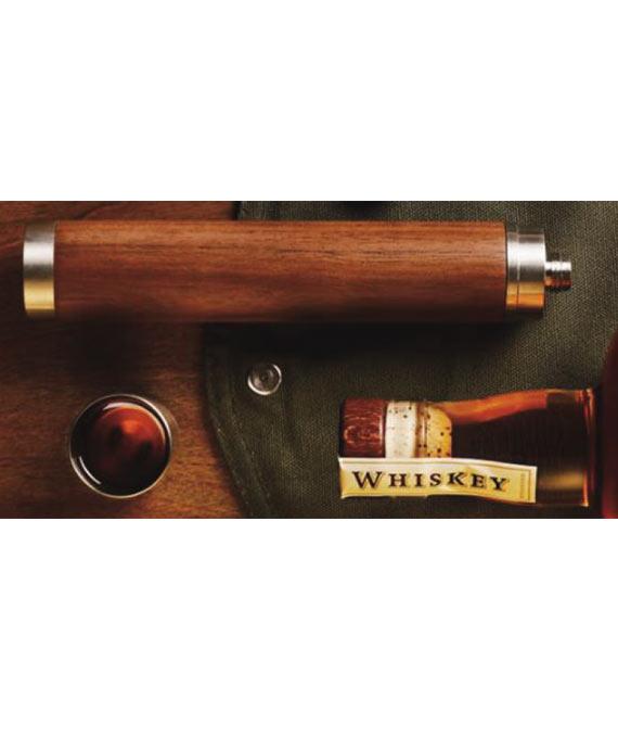 Bambus Whiskey Flasche
