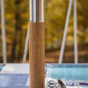 FH206 Bambus Whiskey Fläschchen 50ml