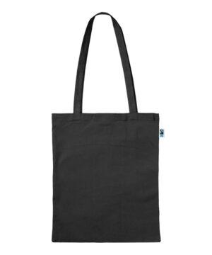 Tasche aus Fairtrade Biobaumwolle mit zwei langen Henkeln